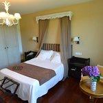 Standard room at Quinta de San Amaro.