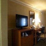 TV & Desk area