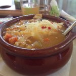 Chicken chili bowl - fantastic!
