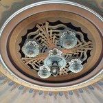 Tiffany lamp in the Avalon Casino Ballroom.