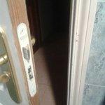 Bathroom door wouldnt close