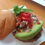 Oaxaca Burger...YUMMMM!!!