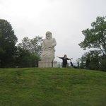 Santa Claus Statue, Santa Claus, IN.
