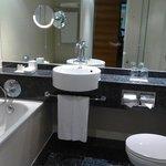 well equiped bathroom