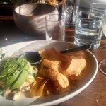 Panama Special (Happy Hour) Rockfish ceviche + daiquiri