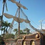 Water Playground- Pirate Ship