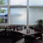 Restaurant interior - the glassed in section