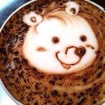 New cappuccino art