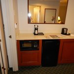 Fridge/Microwave - Accessible Two Room One Full Suite w/Sleeper