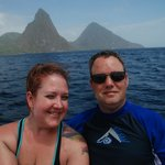 Visiting The Pitons!