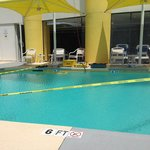 1/2 day no pool due to repairs