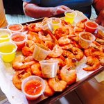 40 Steamed Shrimp