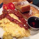 Breakfast: The Lot.