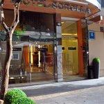 Entry into Hotel Sorolla Centro