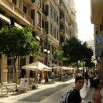 Street area around Hotel Sorolla Centro