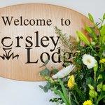 Horsley Lodge sign