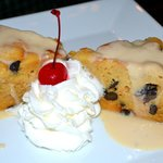 Whiskey Bread Pudding with Whiskey Sauce