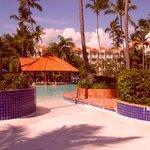 la piscine principale avec son entree en douceur