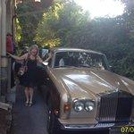 Dinner Transportation in the Rolls