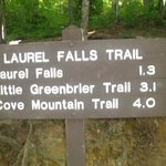 Sign at Front of Trail