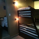 Kids beds in family suite