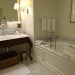 Our lovely bathroom