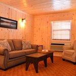 Master Suite Living Room with Queen Sofa Sleeper