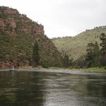 View from the Green River rafting trip
