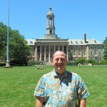 Jeff Filby at Old Main - July 5, 2014