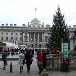 The Strand ice rink at Somerset House