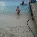 June 2014 at the IB dock