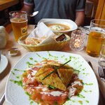 Largest plate of smoked salmon ever
