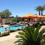 Quiet peaceful pool scene - Not a Dayclub!