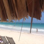 The view from the palapa