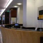 ホテルジェノバのフロント