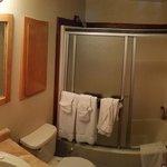 Second-level bathroom (guest bath)