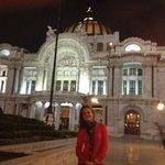 Lindo Palacio a noite iluminado!