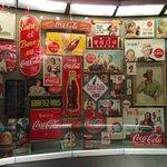 Wall of merchandise