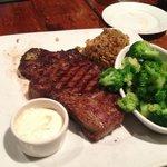 Rotisserie Rib Eye Steak