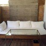 Deck in the villa