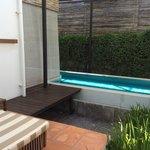 A very long very pool