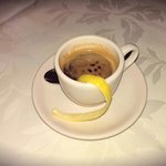 No great meal is complete without a shot of Italian espresso. Divine!