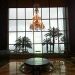 Chandelier in the Lobby
