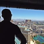 Vegas view!