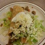 Crispy chicken taco....