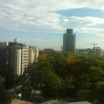 Taksim Square seen from the Room