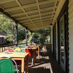 The Side Verandah, Cafe Wollombi
