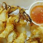 """""""Thai Calamari"""" ~ Pla Meruk Tod"""