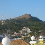 mt tapyas seen from the hotel's roof top
