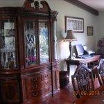 large dinner room area
